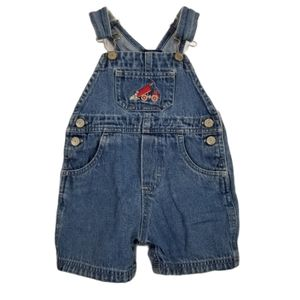 Carter's Kids Overall Shorts Embroidered Truck